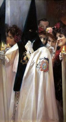 José Garcia Ramos - Nazareno, dame un caramelo - 1890 - Museo Bellver de Sevilla
