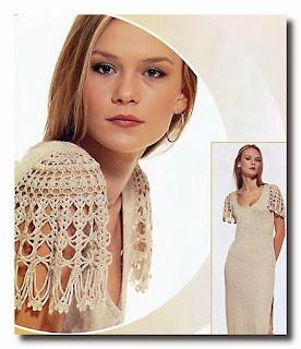 cómo transformar una blusa con crochet