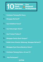 10 Pertanyaan Klasik Interview & Cara Menjawabnya
