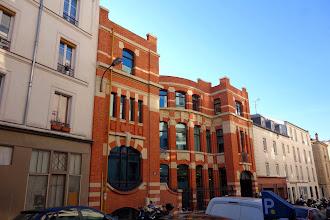 Paris : Ancienne usine Meccano - 78-80 rue Rébeval - XIXème