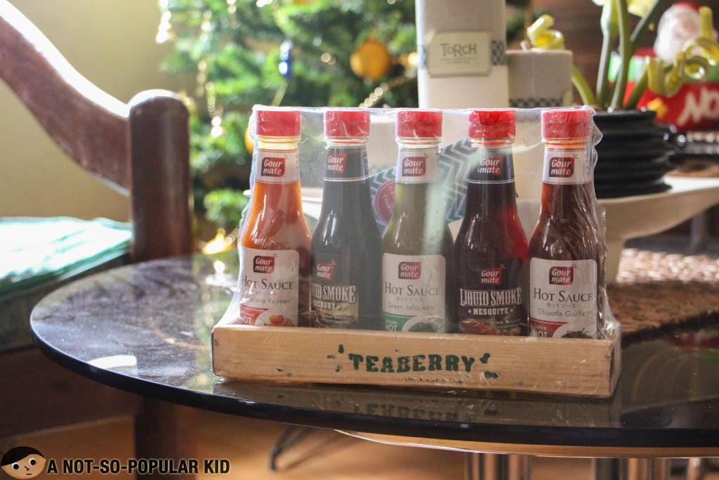 Teaberry Food Essentials - Gourmate's Hot Sauce and Smoke Flavors