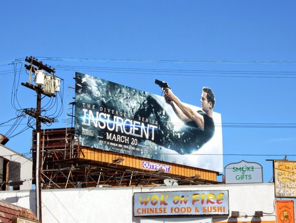Insurgent special extension billboard