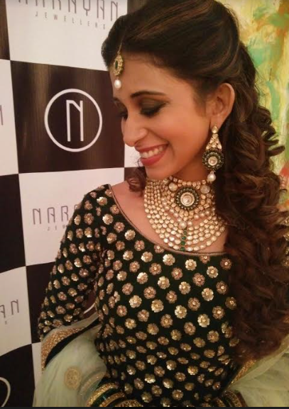 Kishwar looking stunning in narayan jewellers jewellery by ketan and jatin chokshi vadodara