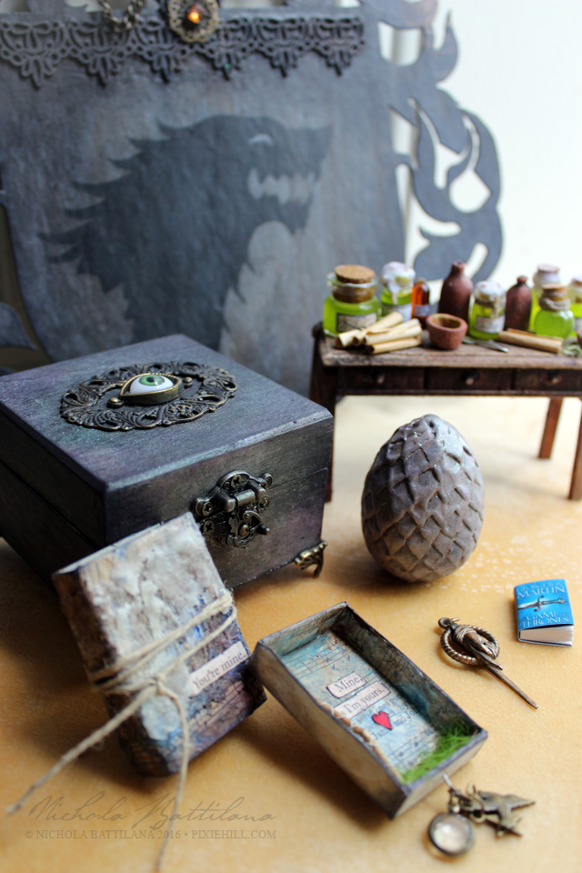 Game of Thrones craft package - Nichola Battilana