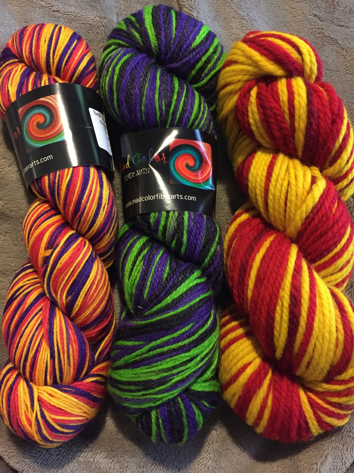 two sisters yarn company the last jedi gothic rainbow rock and string creations derby day 16 appalachian autumn and i found more mad color roam