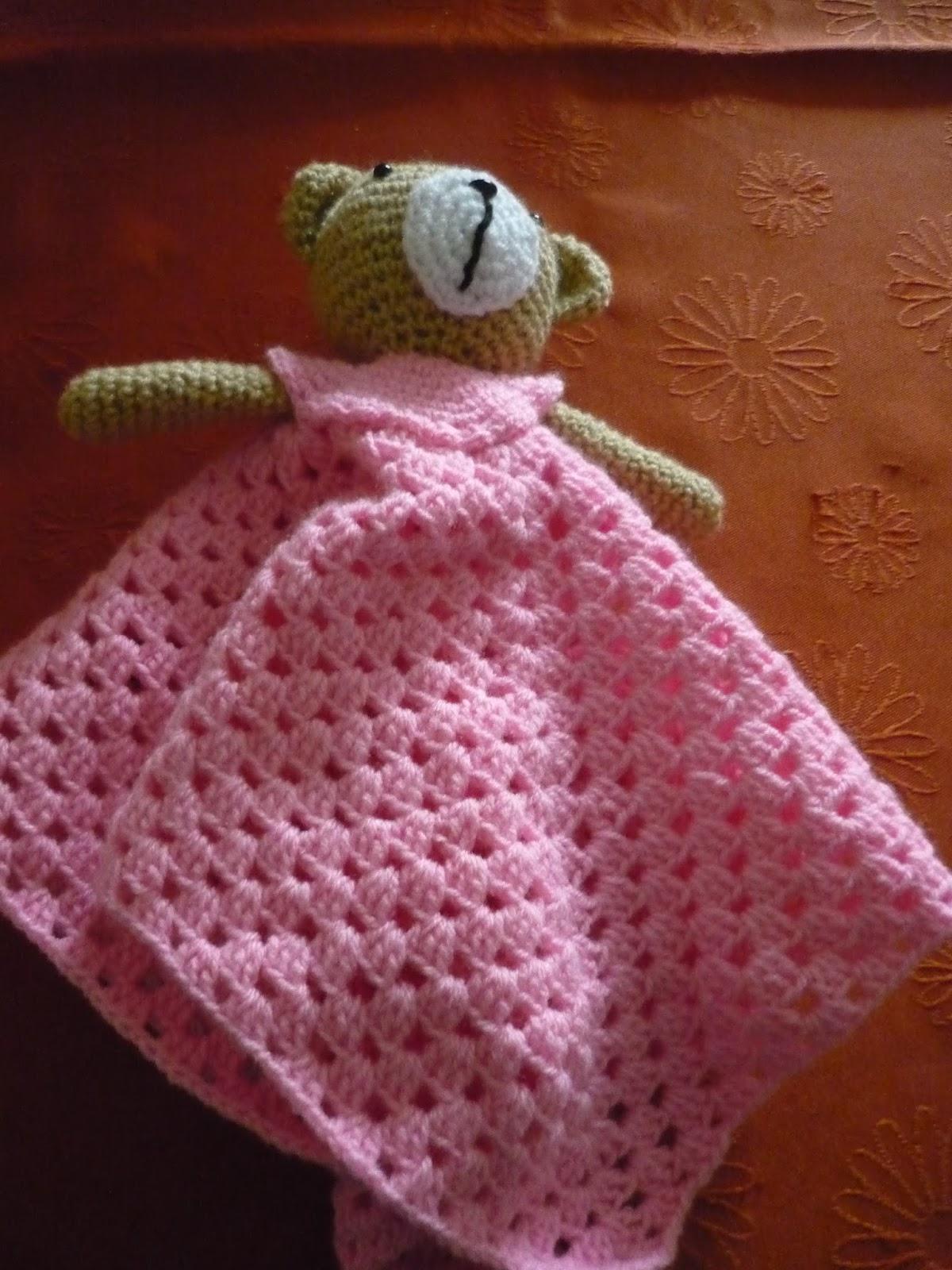 Mis Labores De Punto Y Crochet  Manta De Apego Con Amigurumi