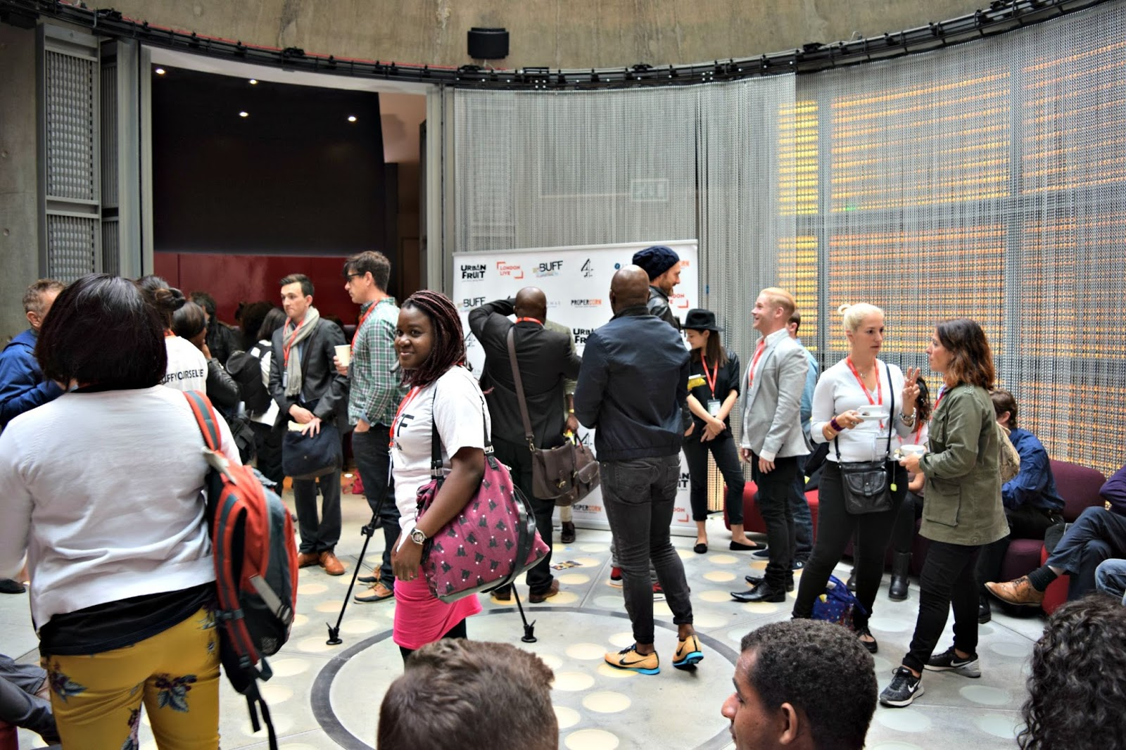 The British Urban Film Festival press conference