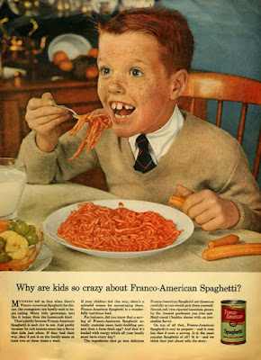Why are kids so crazy about Franco-American spaghetti?