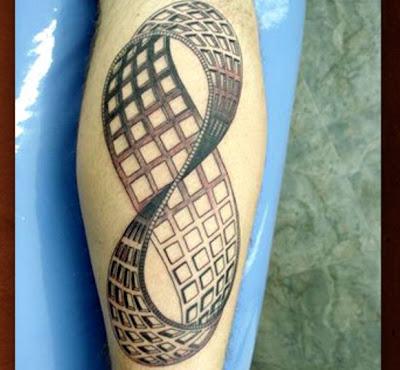 Fotos de Tatuagem Do Infinito em 3D