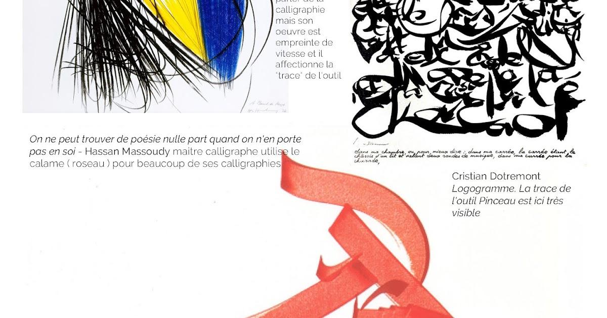 Artchiv Calligraphie Contemporaine