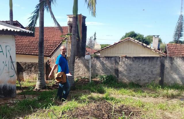 Agentes de Endemias de Borrazópolis intensificam os trabalhos no combate ao mosquito da dengue