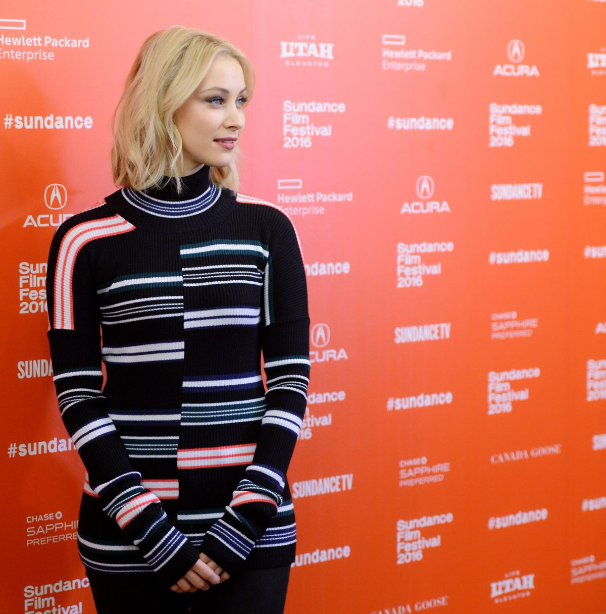 2016 Sundance Film Festival - Sarah Gadon at 1.22.63 Premiere in Park City, Utah