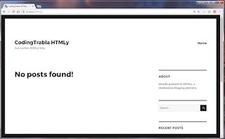 Install HTMLy 2.7.4 flat-file CMS / Blog on Win7 localhost via XAMPP ( PHP7 ) 18