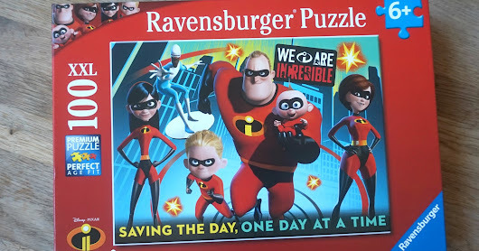 INCREDIBLES 2 JIGSAW
