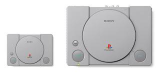 tamaño playstation original y playstation classic