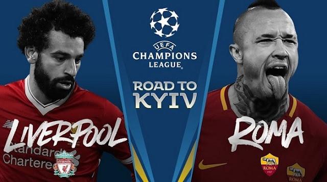 موعد مباراة ليفربول وروما اليوم 2/5/2018 على قناة beIN SPORTS HD 1 في نصف نهائي دوري ابطال اوروبا