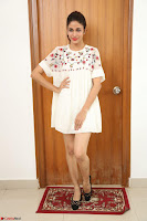 Lavanya Tripathi in Summer Style Spicy Short White Dress at her Interview  Exclusive 294.JPG