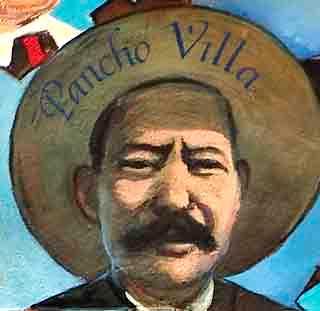 Rostro de Pancho Villa