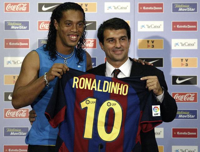 Ronaldinho, 2003