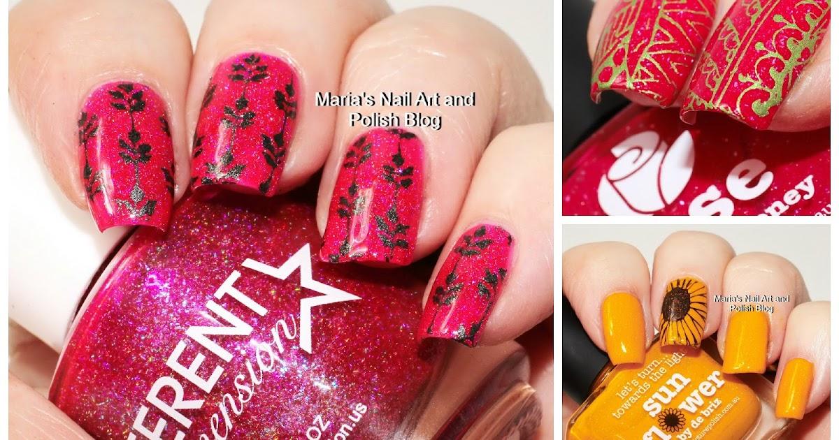 Marias Nail Art and Polish Blog: My stamping journey - part 51