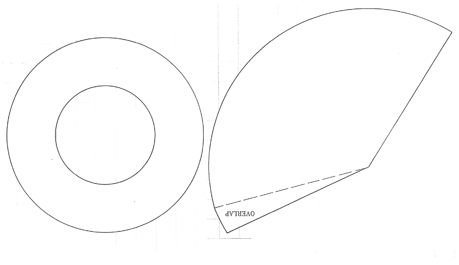 Paper Cone Template For Construction Pictures to Pin on