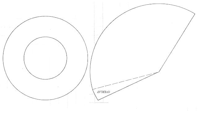 Printable Cone Hat Templateart4search.com | art4search.com