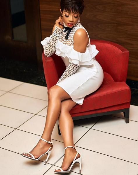 Toke Makinwa shows off different new look