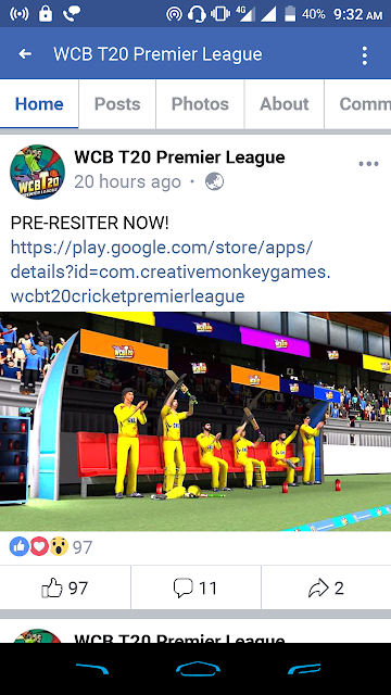 WCB T20 Premier League Update