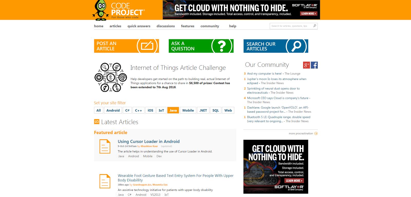 تعرف على موقع من افضل المواقع التي تعطيك مشاريع ويب و تطبيات مفتوحة