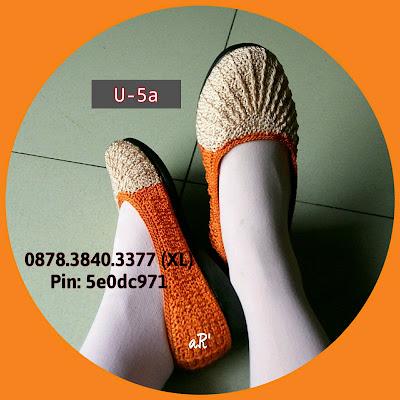 Sepatu Rajut Wanita Terbaru Model Ulir ~ 0878.3840.3377 (XL)