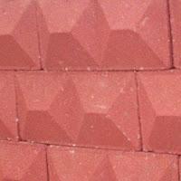 Block macizo estampado tipo doble Pirámide