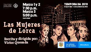 LAS MUJERES DE LORCA | TEATRO COLON