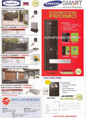 Harga Doorhan Automatic Sliding / Swing Gate