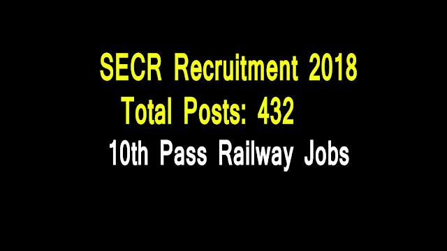 SECR Recruitment 2018