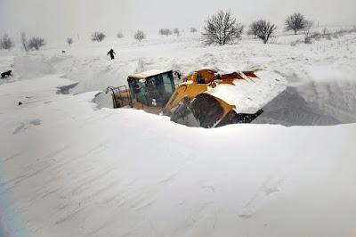 hóvihar, extrém hideg, hófúvás, figyelmeztetés, Románia, extrém időjárás,