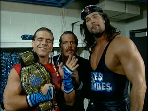 WWF / WWE - In Your House 3 - Triple Header -  Two Dudes With Attitudes - Shawn Michaels and Diesel