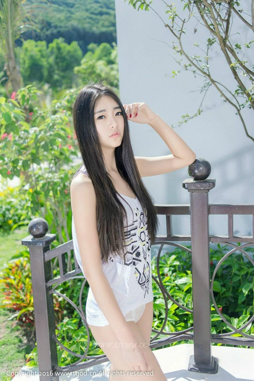 Vicky Chinese Girls Outdoor Naked Teen (推女神 TGOD 2016-03-30 越南芽庄旅拍 可乐Vicky 第二刊)