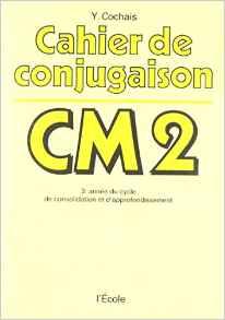 cahier de conjugaison