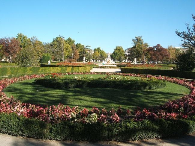 Aranjuez parterre y jard n del rey paisaje libre for Parterre jardin