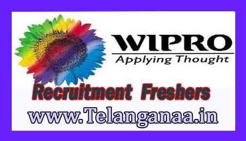 Wipro Recruitment  2018 For Freshers Apply