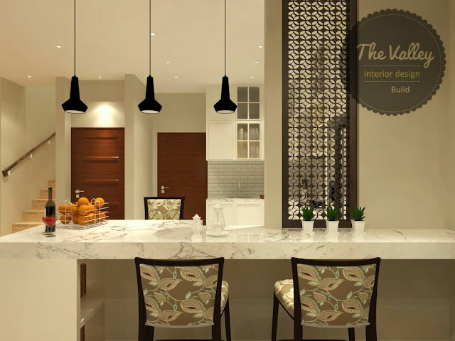 Ruang Makan - The Valley Interior Design