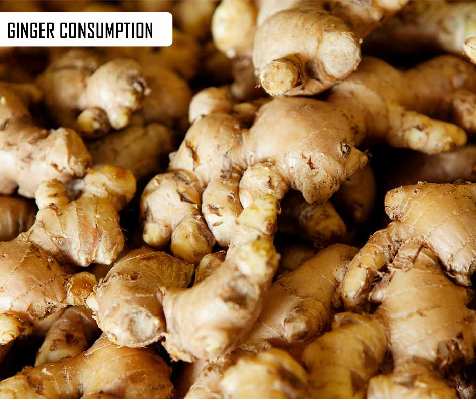 Ginger Consumption