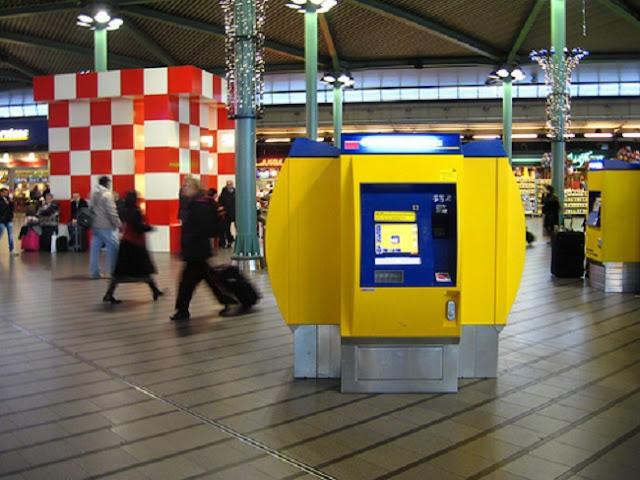 Passagens de trem em Amsterdã e na Europa