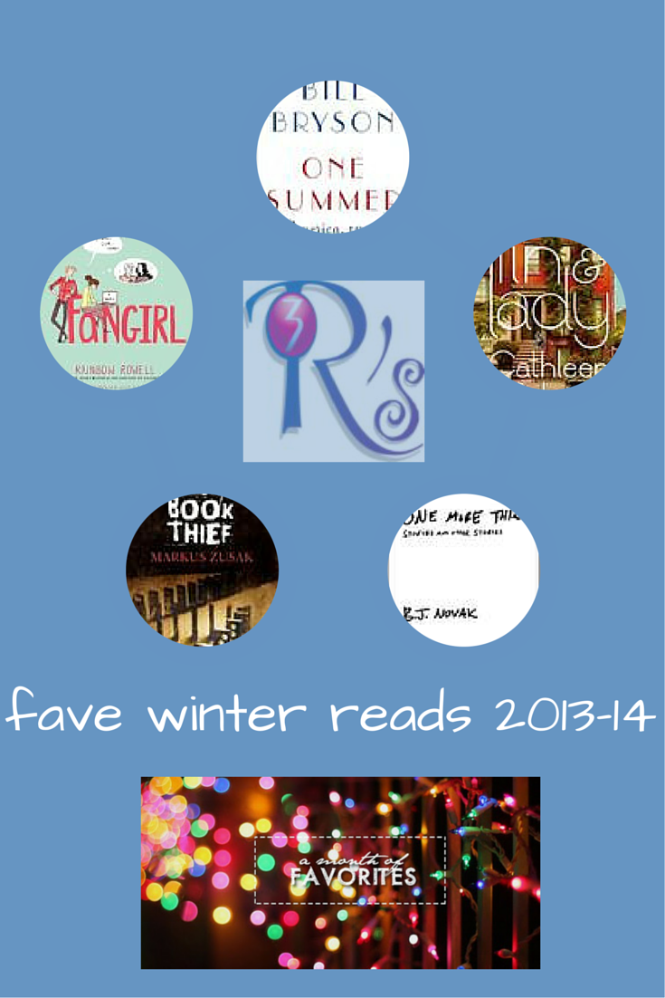 """#AMonthofFaves """"5 Fave Winter Reads"""" at The 3 Rs Blog"""