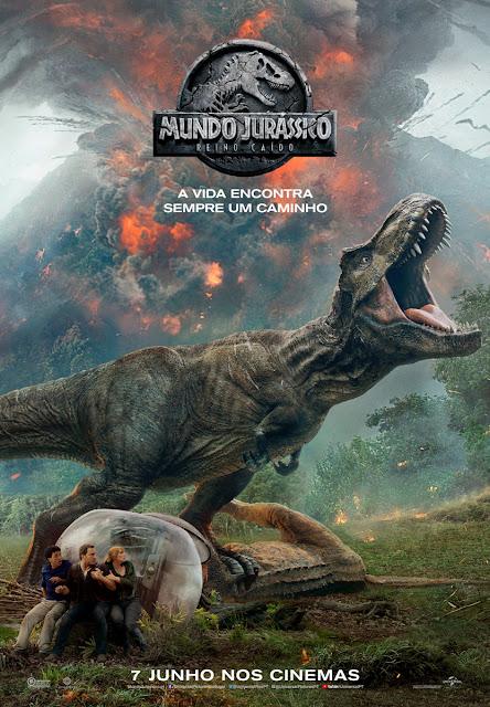 "Passatempo: ""Mundo Jurássico: Reino Caído"" - Convites para a antestreia"