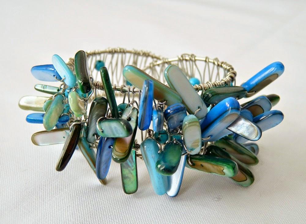 DIY beaded napkin ring