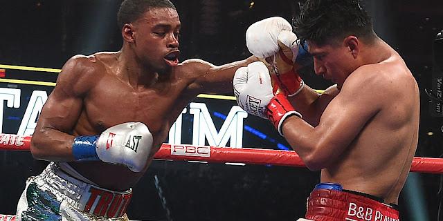 Errol Spence Jr. Breaks Down And Defeats. Mikey Garcia Via Unanimous Decision