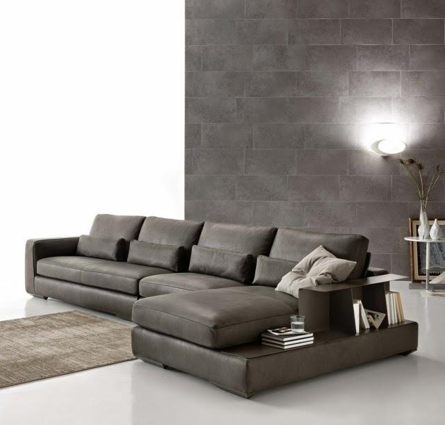 Dise os de salas con paredes grises salas con estilo for Color gris claro para paredes