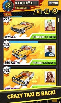 Download Crazy Taxi Gazillionaire MOD APK v13486 Unlimited Money Full Terbaru 2017 Gratis