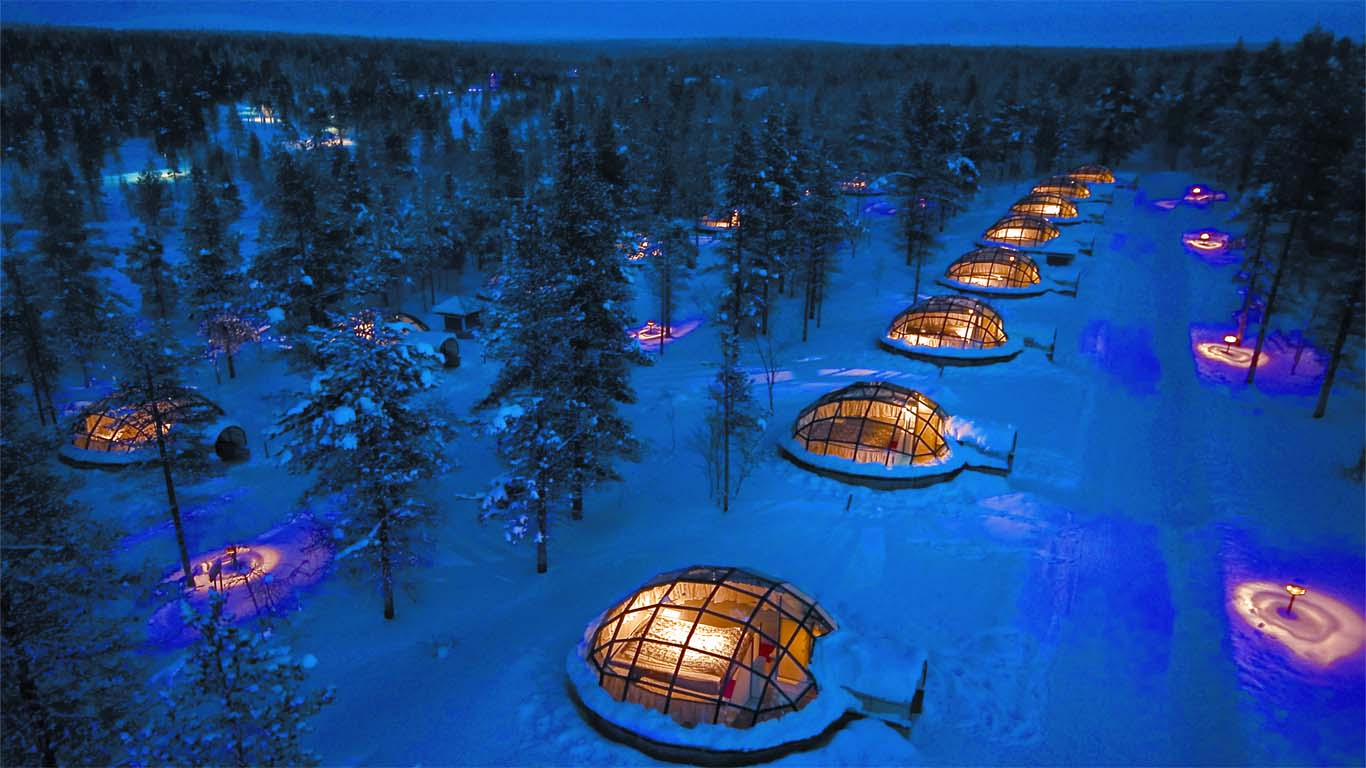 Interested In Seeing The Northern Lights Here Are 10 Places To Visit - Kakslauttanen, Finland